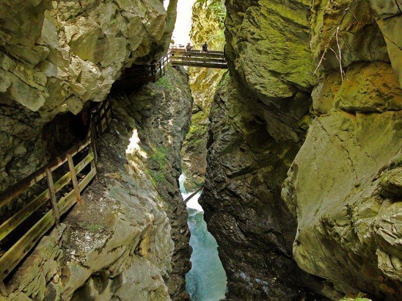 Urlaub in Ratschings: Naturerlebnis Gilfenklamm
