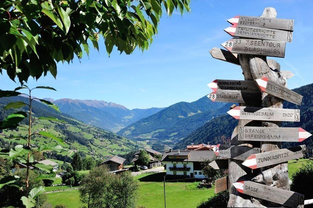 Ereignisreicher Urlaub in Ridnaun auf dem Jagerhof